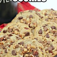 Chocolate Pecan Toffee Cookies