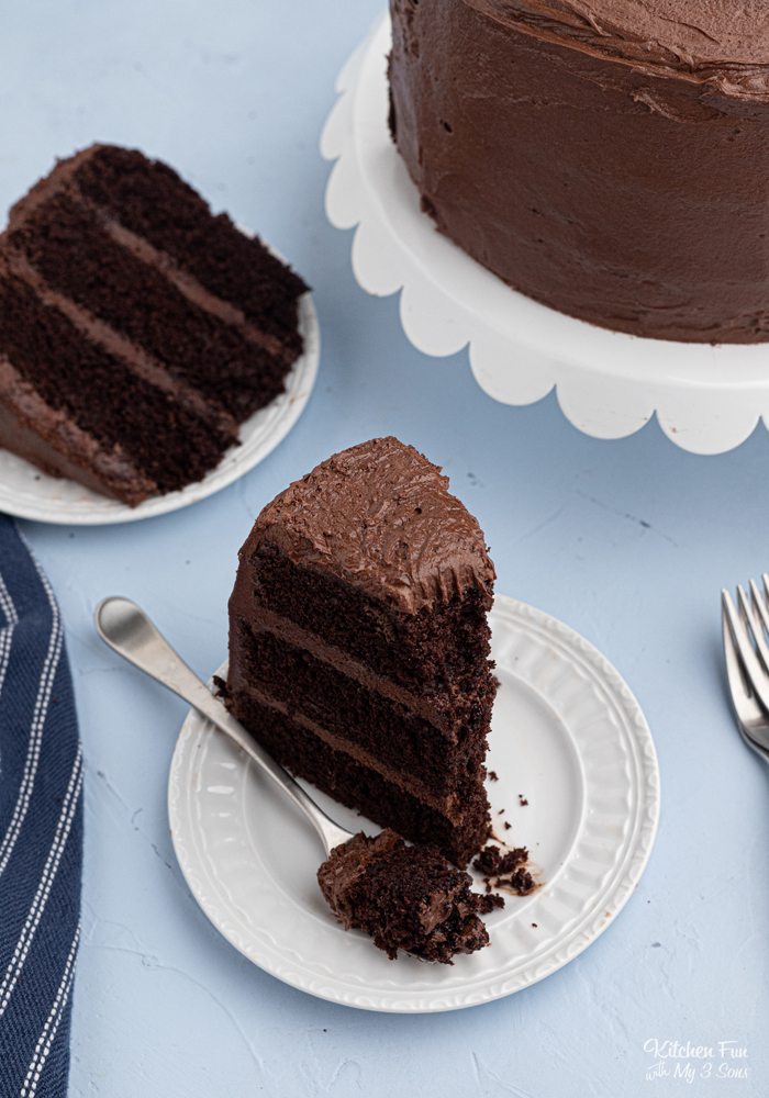 Best Chocolate Cake Recipe (Rich and Moist)