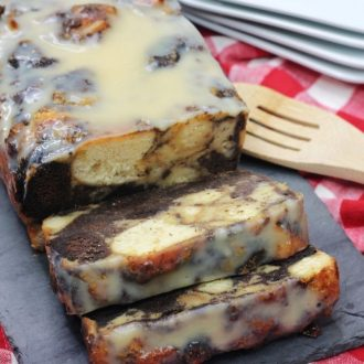 Bourbon Donut Bread Pudding