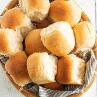 Homemade Whole Wheat Rolls