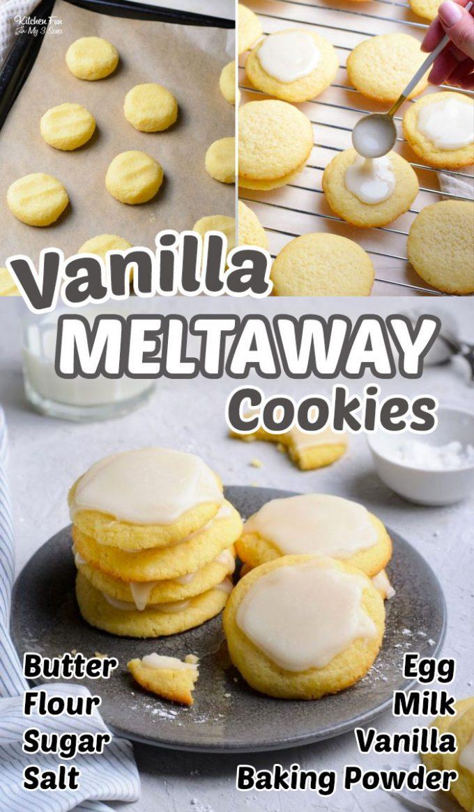 Vanilla Meltaway Cookies Recipe