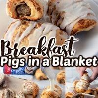 Breakfast Pigs in a Blanket