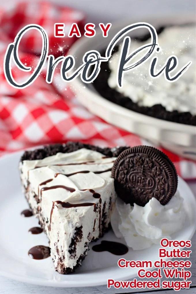 Easy Oreo Cream Pie on Pinterest.