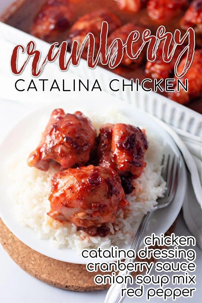 Cranberry Catalina Chicken on Pinterest.