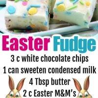 Easter Fudge