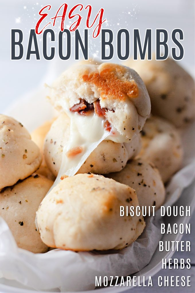 Cheesy Bacon Bombs on Pinterest.