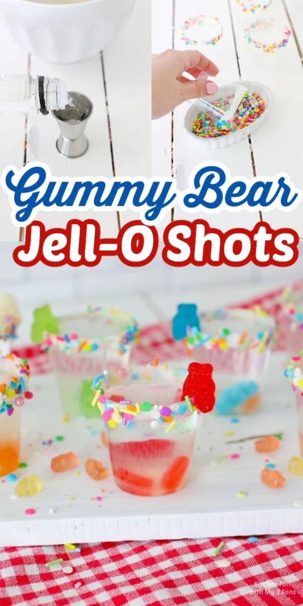 Easy to Make Gummy Bear Jello Shots