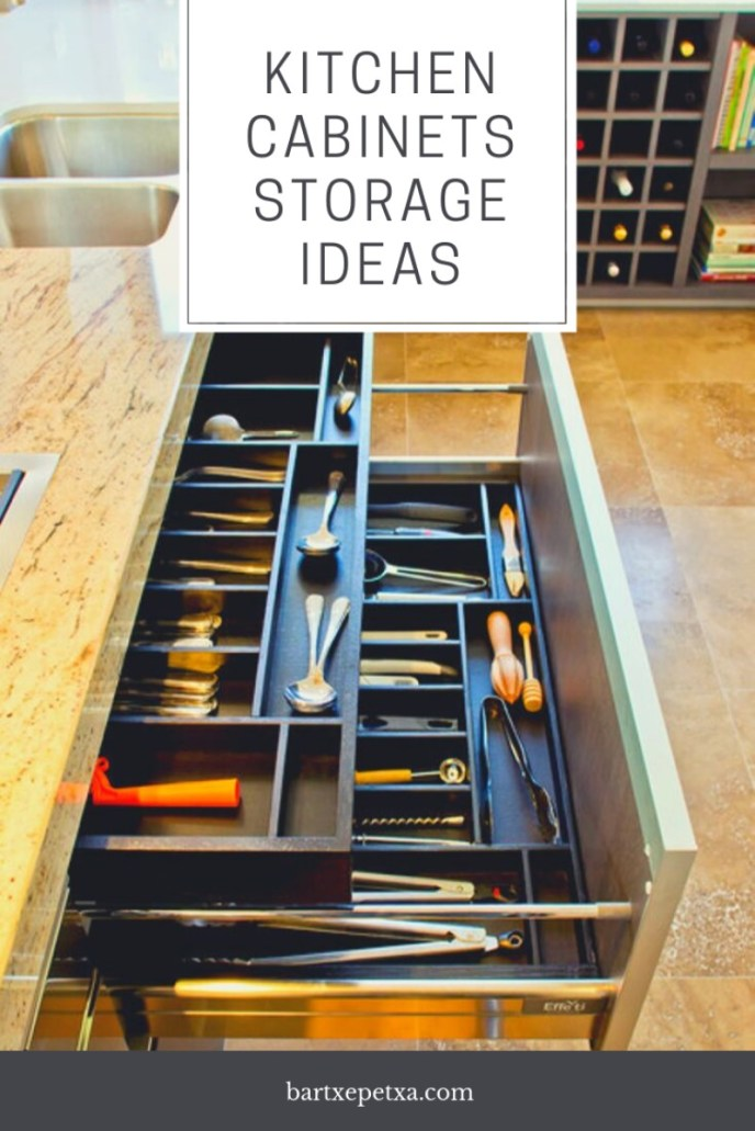 Kitchen Cabinets Storage Ideas