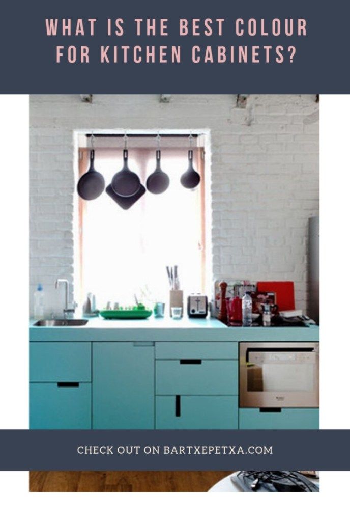 What Is the Best Colour for Kitchen Cabinets?