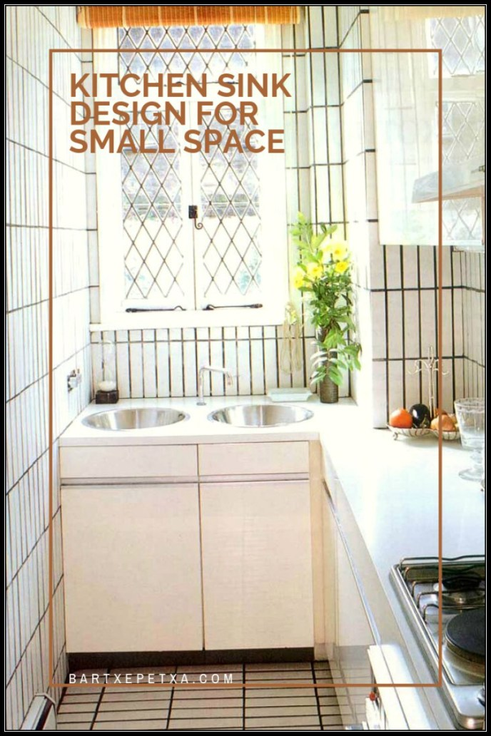 Kitchen sink design for small space