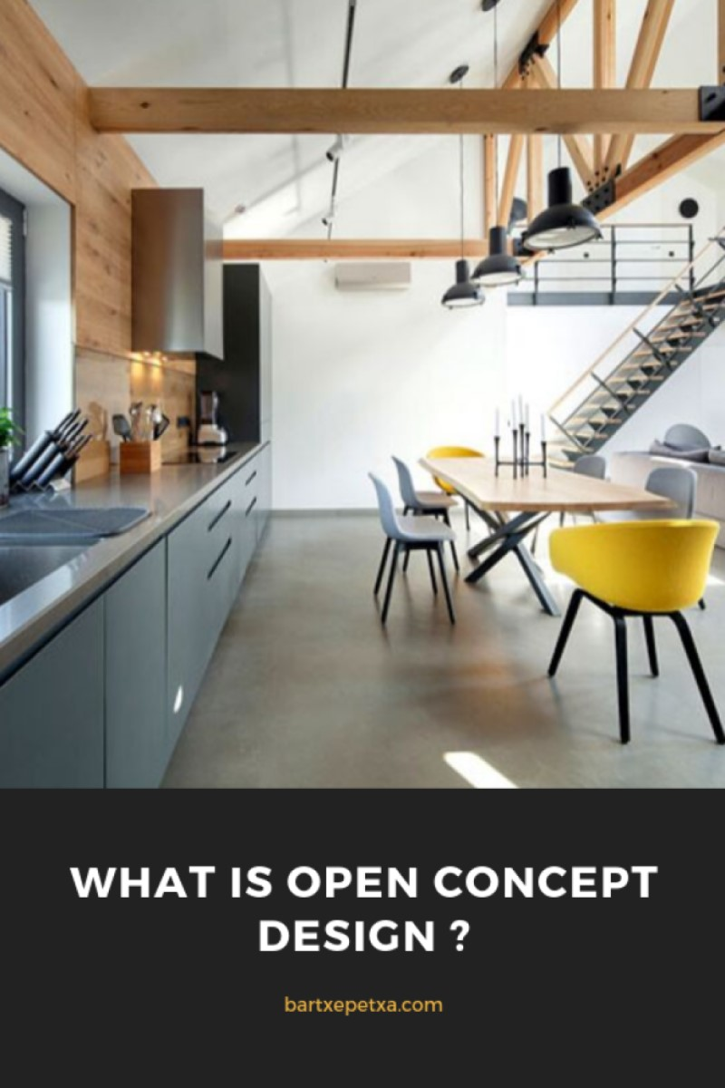 Open Kitchen Design (Cozy and Classic Open Kitchen)