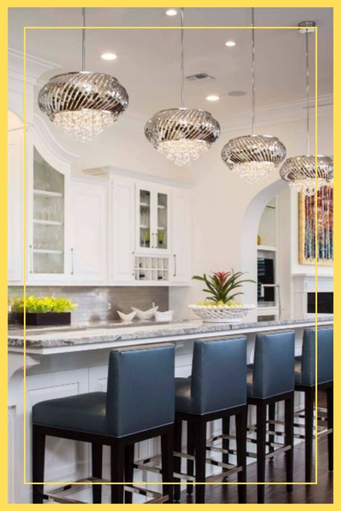 ideas for steel finish industrial kitchen island pendant lighting