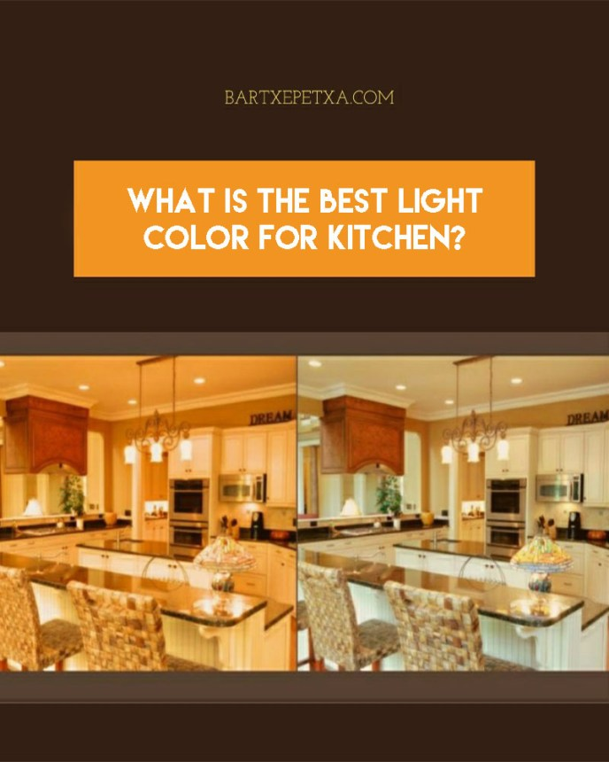What is best light color for kitchen?