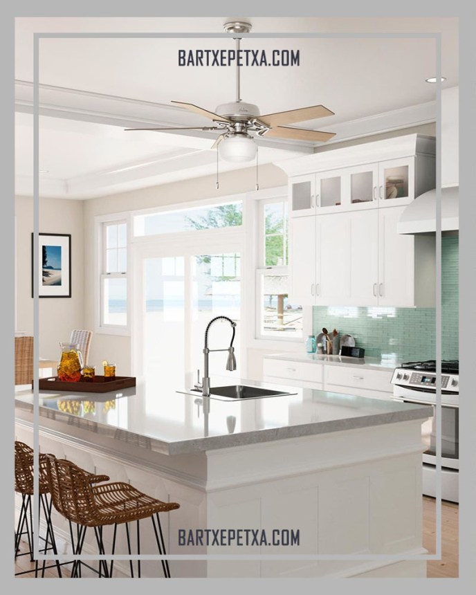 modern kitchen ceiling fans