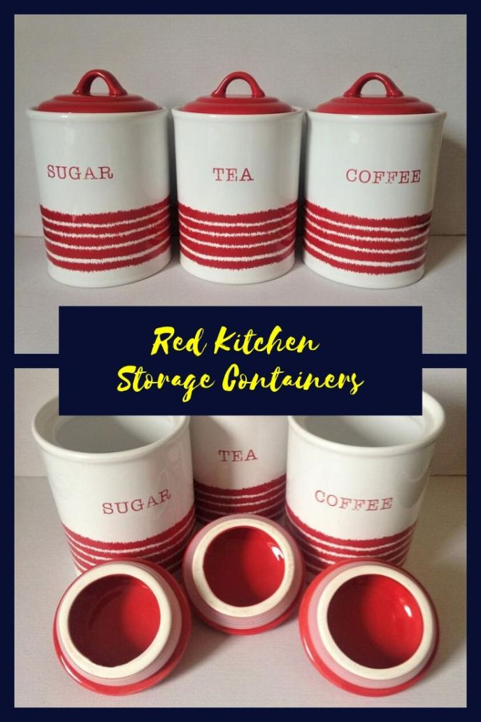 kitchen cabinet storage containers