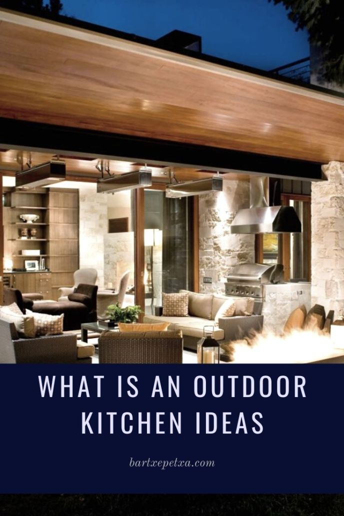 easy outdoor kitchen ideas