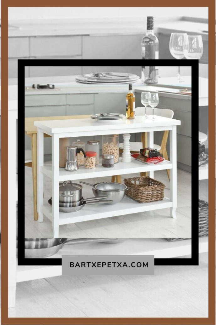 Small Kitchen Table with Storage