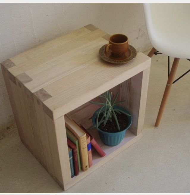 kitchen table with shelves