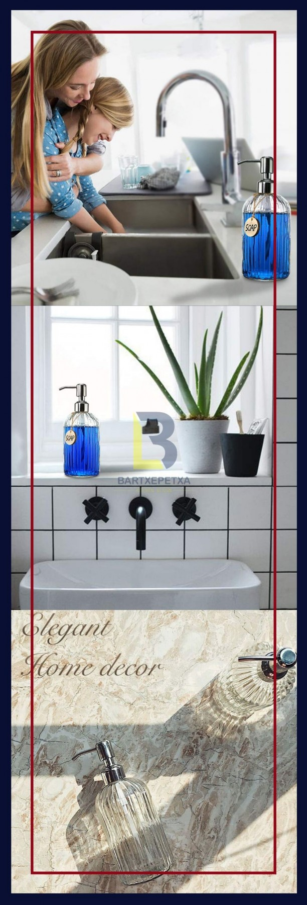 soap dispenser for kitchen sink lowes