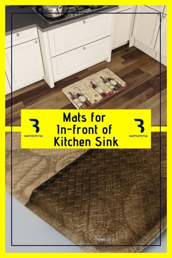 large kitchen sink protector mats