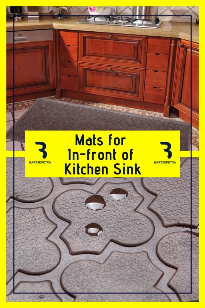 interdesign kitchen sink mats