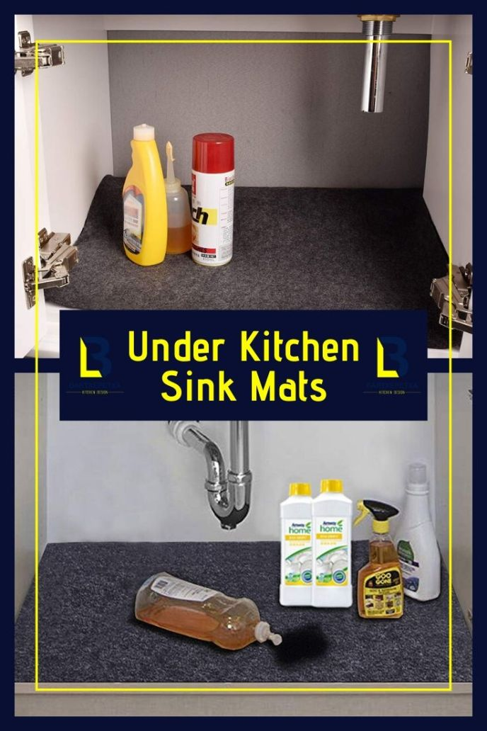 kitchen sink divider mats