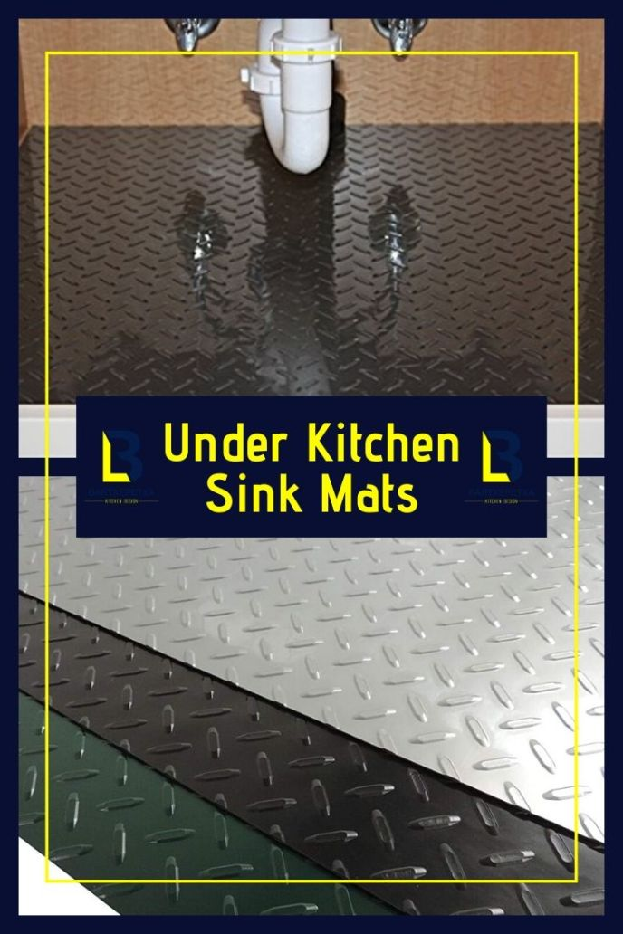 extra large kitchen sink mats