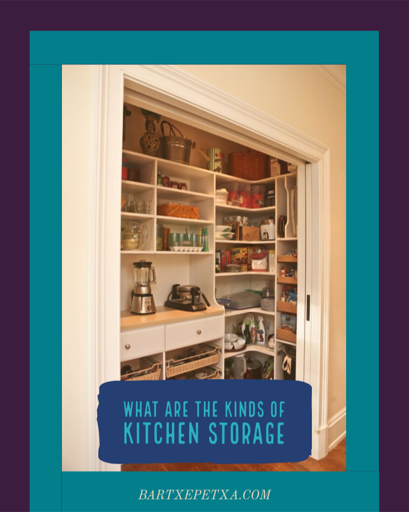 Kitchen Storage Cabinets (Spin and Pull Out Storage Cabinets)