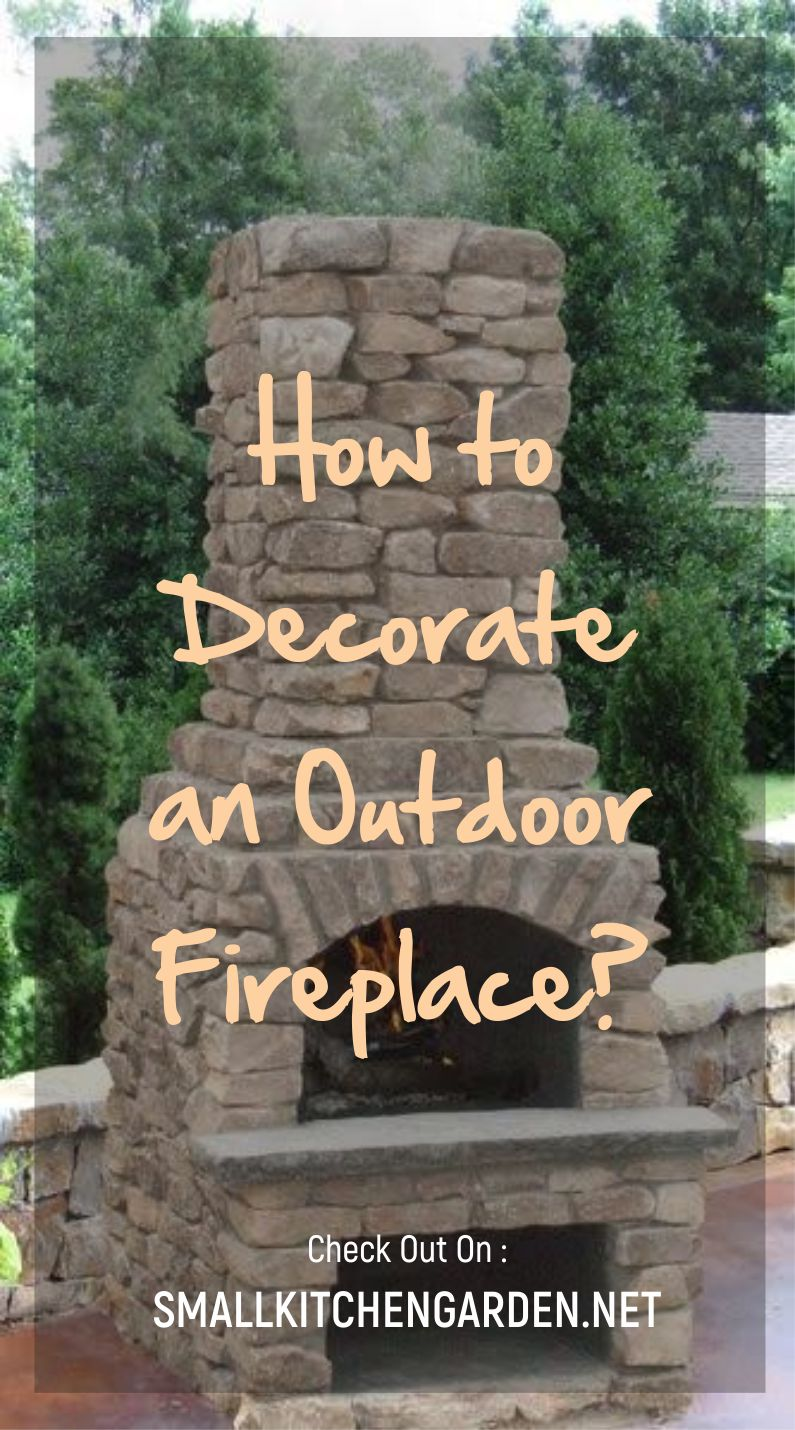 Outdoor Fireplace Ideas (Small, Modern, Portable, Patio)