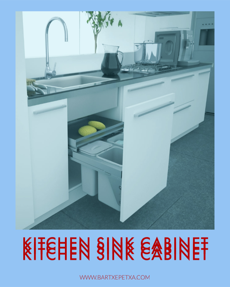 Kitchen Sink Cabinet (Galley and Minimalist Sink Cabinet)
