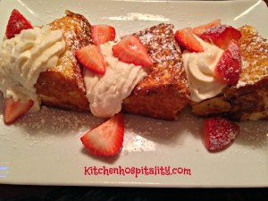 French Toast with Strawberries