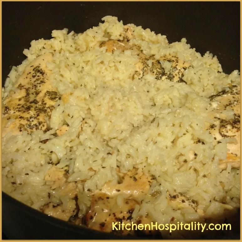 Lemon Herb Chicken and Rice