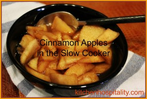 "Slow Cooker ""Baked"" Apples"