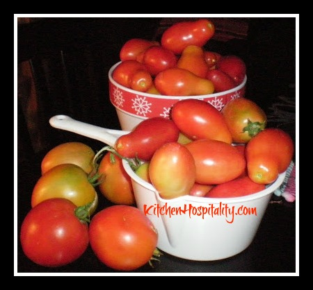 Slow Cooker Stewed Tomatoes
