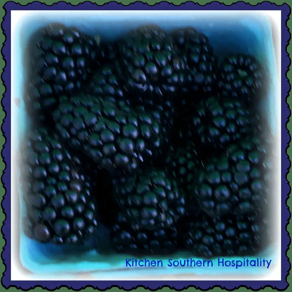 blackberry nutrition