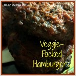 Grilled Veggie-Packed Hamburgers