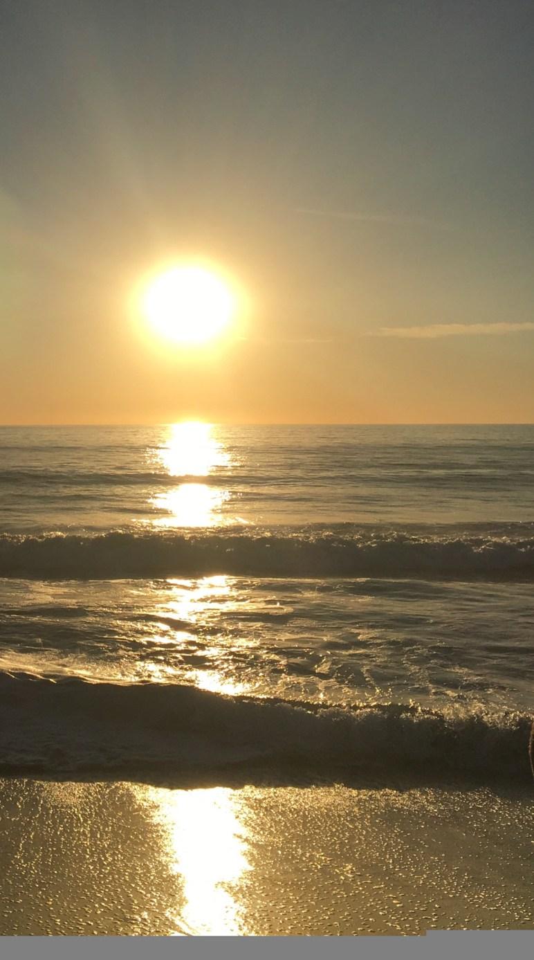 Beach at Carlsbad, CA