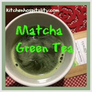 The Matcha Green Tea Buzz