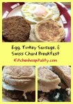 Egg, Turkey Sausage, & Veggie Muffin Breakfast for Two