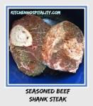 Beef Shank Steak Slow Cooker Dinner for Two