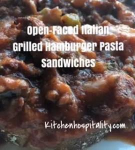 Italian food, sandwiches
