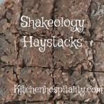 Shakeology, sweets