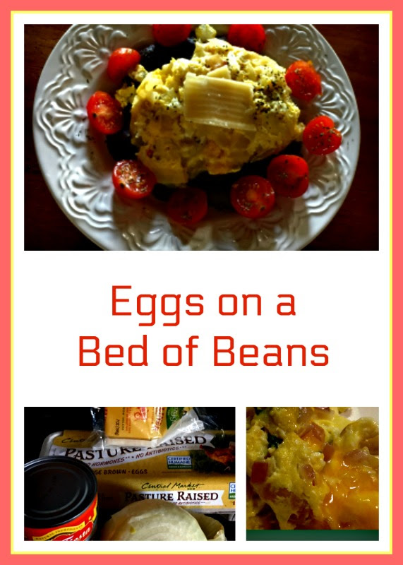 eggs and beans