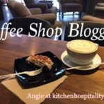 Almond Raspberry Scone and Lavender Coffee – Blogging at a Coffee Shop