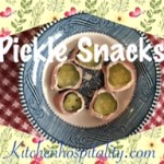 Pickle & Ham Roll-Up Snack
