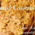 Slow Cooker Country Squash Casserole