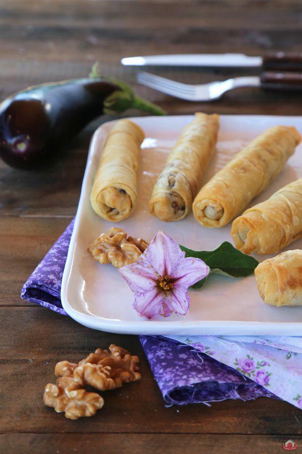 Patlıcanlı Girit Böreği