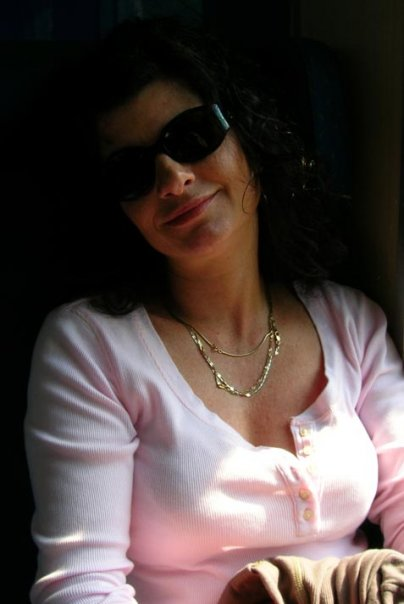 Me on a train to Milano in 2008