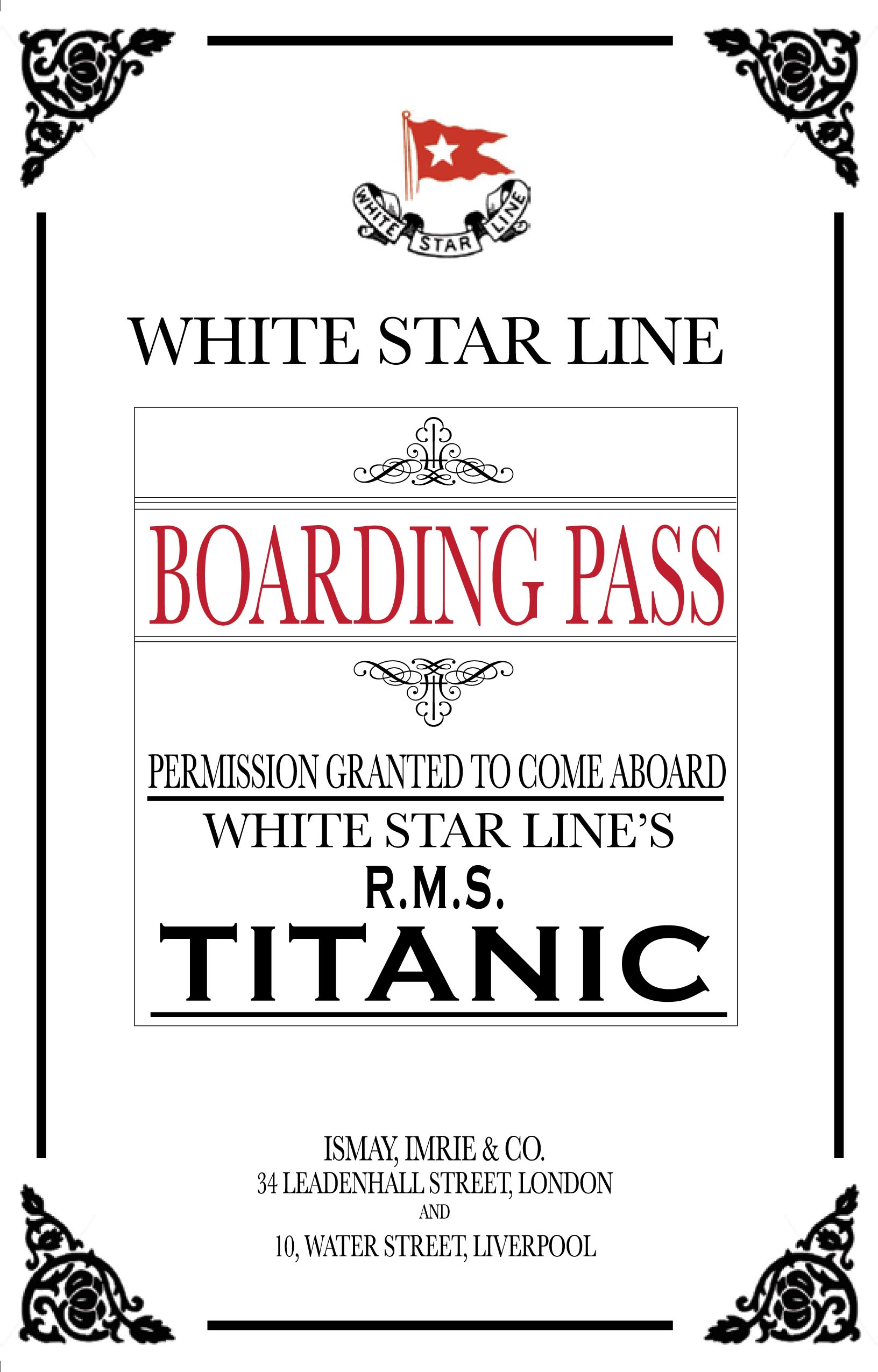 Titanic Dinner Party Invitations And Awards Yup You Read