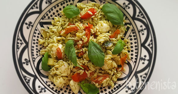 Tricolore orzosalade